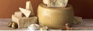 Hard ripened cheeses
