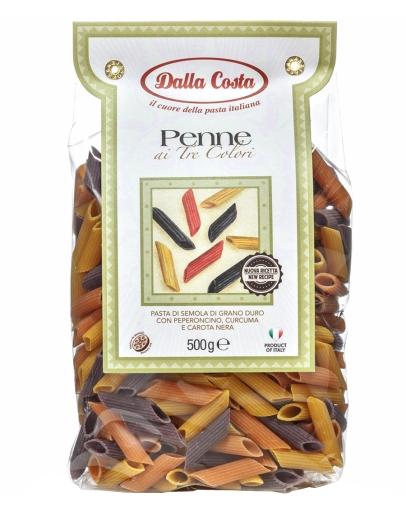 Penne con peperoncino, curcuma e carota nera 500g