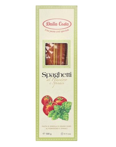 Spaghetti Tricolori al Pomodoro e Spinaci 500g