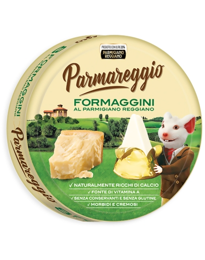 Formaggini - tavený syr 140g Parmareggio