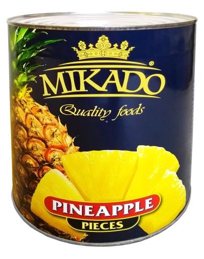 Ananas pieces 3100ml