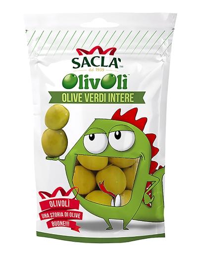 Olive verdi intere 185g