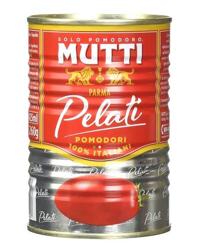 Pomodori pelati 400g - lúpané paradajky