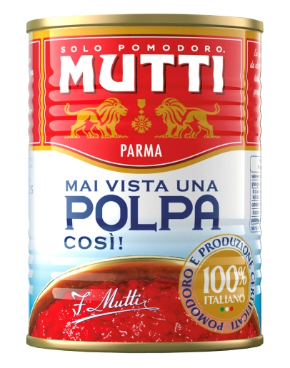 Polpa di pomodoro 400g - drvené paradajky