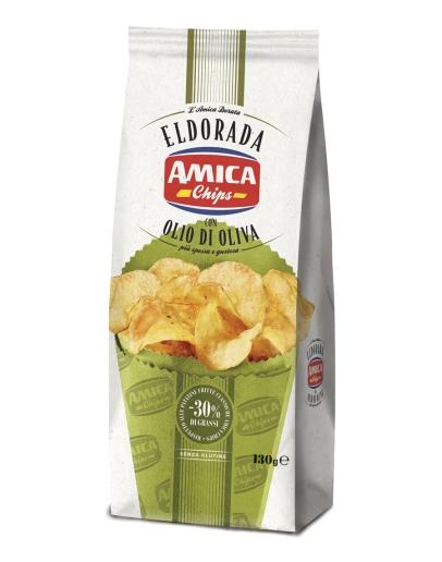 Eldorada Chips olive oil 130g