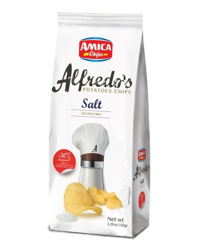 Alfredo´s Salt chips 150g